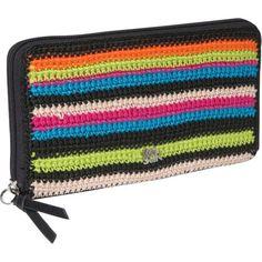 Classic Crochet Zip Around Wallet