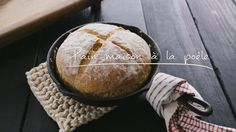 Pain maison à la poêle Quebec, Happy Foods, Wrap Sandwiches, Bakery, Food Porn, Good Food, Food And Drink, Favorite Recipes, Homemade