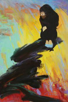 "Saatchi Art Artist Andrii Chernovol; Painting, ""Painting Rain"" #art"