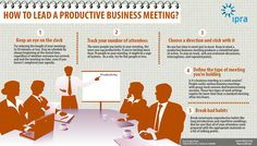 How to lead a productive bussines meeting?