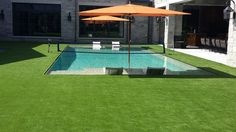 What a difference Artificial Turf makes around any pool!