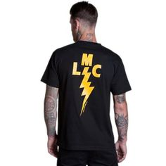 971160026.97BLK_ALL BUSINESS STOCK POCKET S/S TEE • BLACK, T-shirt manica corta con taschino stampato e stampa grande sulla schiena 100% cotone