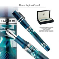 The Visconti Homo Sapiens Crystal Fountain Pen is now available!.