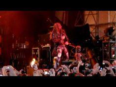 Rob Zombie-Riverbend Music Center in Cincinnati Ohio. Rockstar Mayhem Festival July 21, 2010.