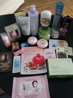 Pedido cosmetica coreana