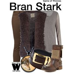 Inspired by Isaac Hempstead-Wright as Bran Stark on Game of Thrones.