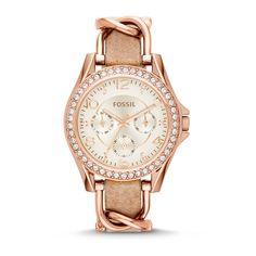 Fossil Riley horloge ES3466 - Horloges.nl