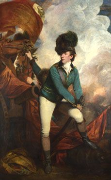 Colonel Tarleton 1782, Sir Joshua Reynolds