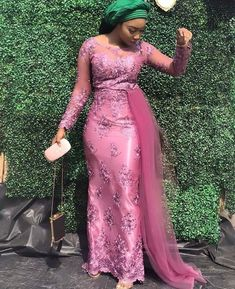 African lace styles - What to Wear to a Wedding 10 Outfit Ideas That Will Inspire You Nigerian Lace Styles Dress, Aso Ebi Lace Styles, African Lace Styles, Lace Dress Styles, Latest African Fashion Dresses, African Dresses For Women, African Attire, Latest Aso Ebi Styles, Modern African Dresses