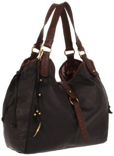 $159.99-$199.00 Lucky Brand Women's HKRU1214 Hobo,Black,One Size - Free Shipping on all orders! Drift with purpose with the Lucky Brand Ojai Leather Slouch Hobo! ; Hobo style shoulder bag constructed of rich, smooth leather. Holds your wallet, sunglasses, personal technology, a copy of your favorite magazine, and a small umbrella. Single shoulder strap. Brand patch on back with side tassel detail  ...