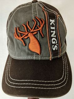 8dad364981e Kings Camo Baseball Mens Cap Hat Gray Orange Adjustable Strapback  Embroidered  fashion  clothing  shoes  accessories  mensaccessories  hats  (ebay link)
