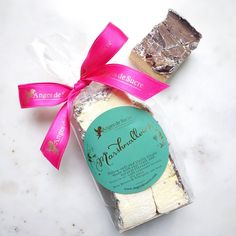 Bag of 5 Gourmet Marshmallows - Banana-rama by Anges de Sucre #marshmallows #angesdesucre