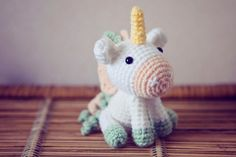Amigurumi Unicorn Crochet by CircusCrochet on Etsy, $34.99