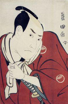 歌川豊国画