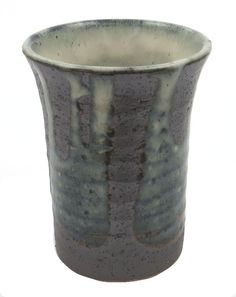 Japanese Ceramic Cup, Mino Yaki Pottery, (Hairyu)