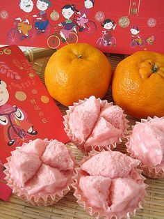 Steamed Rice Cakes for Chinese New Year