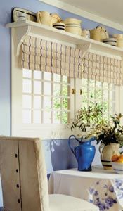 Above Window Shelves I Want To Do This For My Teapots Had Over A Double Next The Table In Eat Country Kitchen
