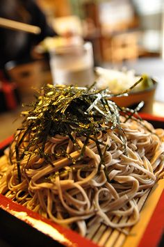 Soba Noodles | by fangchun15 on Flickr.
