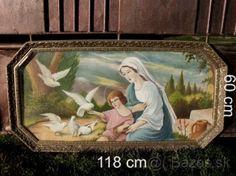 Obraz svätých 118x60 cm