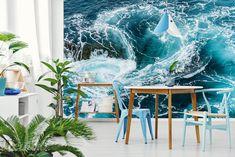 Wodny wir - Aranżacja Styl Marynistyczny - Fototapety ViewGo Decor, Home Decor, Tapestry