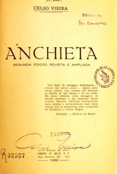 Anchieta / Celso Viera. 1930 http://absysnetweb.bbtk.ull.es/cgi-bin/abnetopac01?TITN=335314