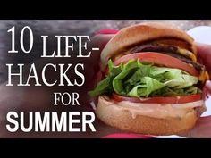 10 Life Hacks You Need To Know For a Better Summer! > really good life hacks. Paninis, Lifehacks, Summer Life Hacks, Snack Bowls, Improve Yourself, Make It Yourself, Useful Life Hacks, Summer Time, Summer Fun