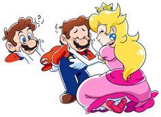 Mario Fan Art, Mario Bros., Mario And Luigi, Super Mario All Stars, Super Mario Art, Nintendo Game, Nintendo Characters, Super Mario Brothers, Super Smash Bros