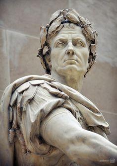 """antonio-m: """"Julius Caesar, Musée du Louvre, Paris """" Statue Tattoo, Julius Caesar, Art Romain, Roman Sculpture, Metal Sculptures, Abstract Sculpture, Bronze Sculpture, Wood Sculpture, Greek Statues"""