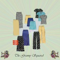 Casual Separates V-Neck Top Pull-on Pants & by TheGrannySquared