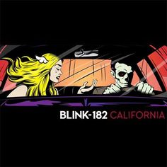 Blink 182 - California on Red 180g LP   Download
