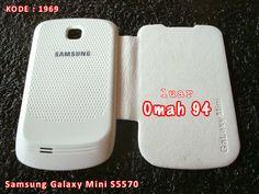 Kode Barang 1969 Jual Flip Cover Case Samsung Galaxy Mini S5570 Putih (White) | Toko Online Rame - rameweb