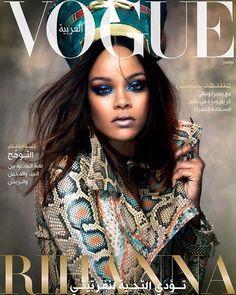 Vogue Arabia X November 2017 featuring Rhianna