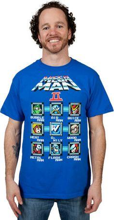 Characters Mega Man Shirt – 80sTees.com, Inc.