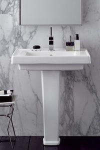 #ArtivDesignCenter Montebianco Traditional Washbasin by Pozzi Ginori https://www.facebook.com/pages/Artiv-Design-Center/120027678056383