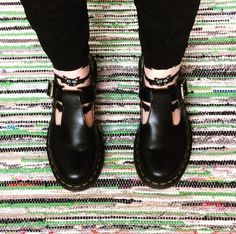 Docs and Socks: the Polley shoe, shared by slncc.