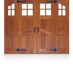 Rockwood Wood Carriage House Garage Door