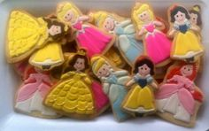 The Painted Pastry : Fairy Tale Princess Cookies