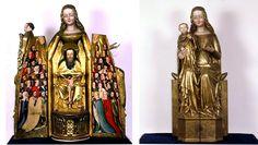Madonna Szafkowa z Elbląga; Shrine Madonna from Elbing; Die Preußische Schreinmadonna - Germanischen Nationalmuseum in Nürnberg.