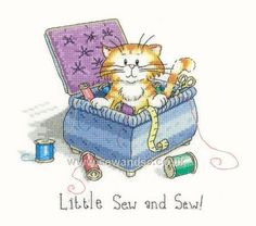 Buy Little Sew and Sew! Cross Stitch Kit Online at www.sewandso.co.uk