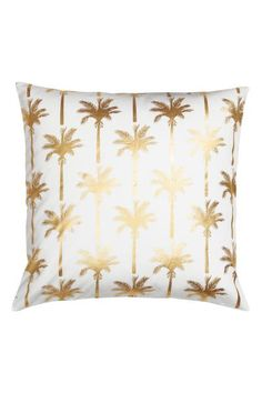 coussin blanc et dor h m home wish list maison d co. Black Bedroom Furniture Sets. Home Design Ideas