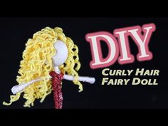 This DIY curly hair fairy doll tutorial will walk you step by step through how you can make curly hair for your doll using embroidery string. I've had quite ...