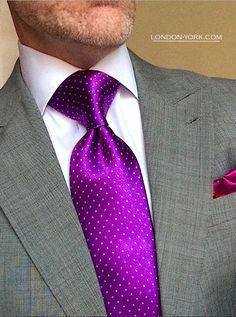 Executive Mens Handkerchief Light Mauve