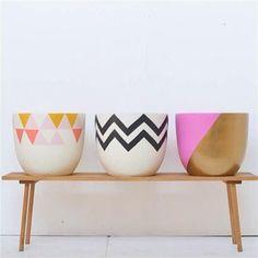 Pop & Scott Pot - Triangles, Fenton&Fenton Exclusive!