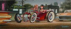 Heavy traffic by Keith Weesner