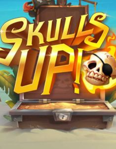 Ahoy, pirate!   If you are a fan of pirates and rich pirate lore, you are going to love Quickspin's latest addition called Skulls UP!  You can play it FREE on our website!