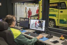 Tamlans-modified Volkswagen Amarok-based Simulation Ambulance designed for Emergency Care teaching.