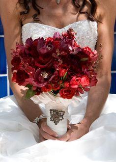 gorgeous bouquet. perfect colors.