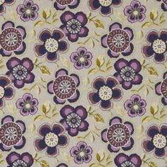Caledonia Grape   Warwick Fabrics Australia