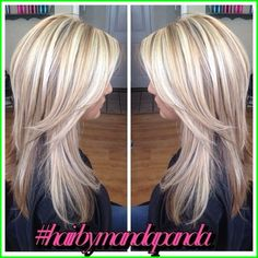 hair by manda panda rock your locks Hair Color Highlights, Hair Color Balayage, Hair Dos, Fall Hair, Pretty Hairstyles, Hair Trends, Hair Inspiration, Short Hair Styles, Hair Makeup