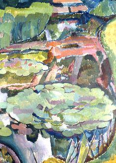 Water Lilies Vanessa Bell